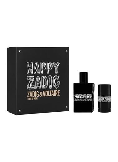 Zadig&Voltaire Zadig Voltaire This is Him Set100Ml+Ds.75 Erkek Parfüm Set Renksiz